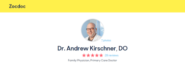 andrew kirschner zocdoc reviews